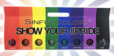 x8 SinfulColors Show Your #PRIDE Limited Edition LGBT Nail Polish Set Rainbow