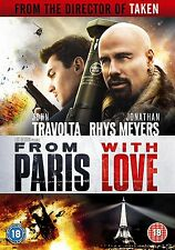FROM PARIS WITH LOVE - DVD - REGION 2 UK