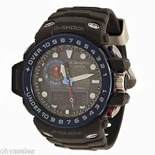 Casio G-Shock Gulfmaster GWN-1000B-1B Triple-Sensor Smart Access Wristwatch