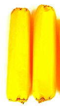 Shock Protector Covers Arctic Cat Sled Yellow Snowmobile Set 2