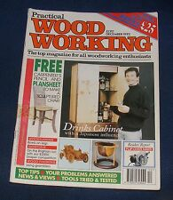 PRACTICAL WOOD WORKING DECEMBER 1993 - DRINKS CABINET WITH JAPANESE INFLUENCE