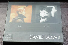 Rare David Bowie Boxset Ltd Ed Low Heroes Albums 24bit Cds MINT Unplayed