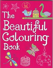 The Beautiful Colouring Book by Jessie Eckel - Art Therapy