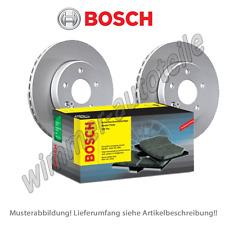 BOSCH Bremsscheiben + BOSCH Bremsbeläge vorne VW  256x20 mm  PR: 1LY 1ZJ 1ZK