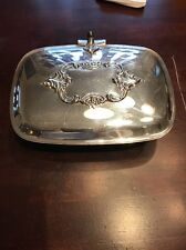 Silverplated Vintage Crumb Butler Baroque by Wallace 276