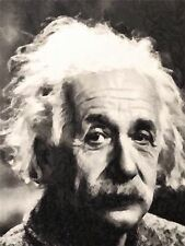 ART PRINT PAINTING PORTRAIT SCIENCE PHYSICIST GENIUS ALBERT EINSTEIN NOFL0120