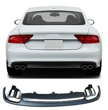 Für Audi A7 S7 4G Spoiler Diffusor S-Line RS7 GRill Platiniumgrau Stoßsange #09