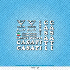 Casati Monza Bicycle Decals - Transfers - Stickers - Set 317