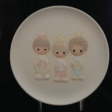 """Vintage Precious Moments """"We Three Kings"""" Limited Edition Collector Plate w/box"""