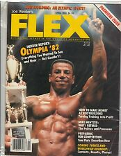 FLEX Bodybuilding Muscle Magazine Premiere Issue Chris Dickerson 4-83