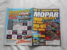 MOPAR MUSCLE--NOVEMBER,1997--MAGAZINE