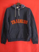 Sweat Training à Capuche POLICHINELLE Bleu Sport Vintage ancien - 171 / S
