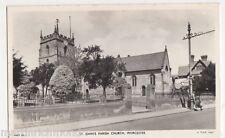 Worcester, St. Johns Parish Church, Tuck WST 85 RP Postcard, B493