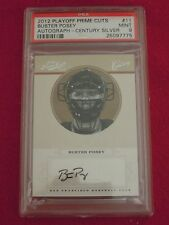 2012 Buster Posey Giants Playoff Prime Cuts Autograph Baseball Card 20/25 PSA 9