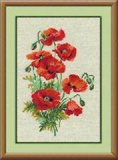 "Counted Cross Stitch Kit RIOLIS - ""Wild Poppies"""