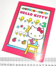 HELLO KITTY 1984 Sanrio Italy notebook school - quaderno scuola raro nuovo