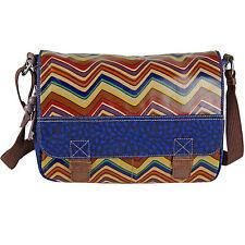 FOSSIL Handtasche KEY-PER MESSENGER Tasche Schultertasche Umhängetasche Stripe