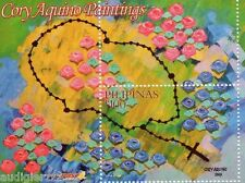 2014 Cory Aquino Painting Rose Scented Stamps Rosary