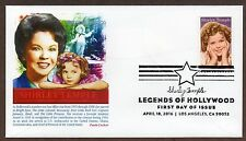 SHIRLEY TEMPLE ~ LEGEND OF HOLLYWOOD STAMP ~ PANDA CACHET ~ FIRST DAY COVER