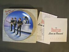 Collector Plate * The Beatles Live in Concert* The Bradford Exchange Delphi