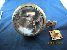 "5"" Brass Searchlight Decklight Spotlight Military New 24 Volt Changeable Bulb"