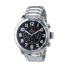New Tommy Hilfiger Men Multifunction Steel 24Hours Dress Watch 47mm 1791054 $155