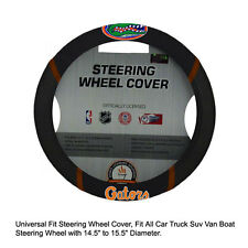 Fan Mats NCAA Florida Gators Car Truck Suv Van Boat Steering Wheel Cover