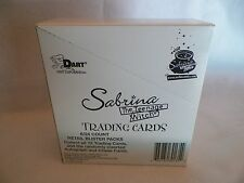 12 Box of Sabrina Teenage Witch Trading Card Unopened Blister Pack Dart NS70