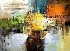Abstract oil painting for hand painted on canvas art wall decoration 40x60""