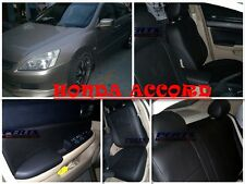 Honda Accord High quality Factory Fit Customized Leather CAR SEAT COVER