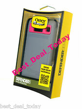OEM OTTERBOX DEFENDER CASE FOR MOTOROLA DROID RAZR HD PINK THERMAL GREY XT926