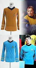Star Trek TOS The Original Series Kirk Shirt Uniform Costume *Tailored*