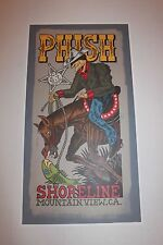 Phish Jim Pollock Poster from Shoreline 2000 Concerts before 1st Hiatus