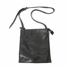 agnes b. VOYAGE Leather Shoulder Bag(K-46429)