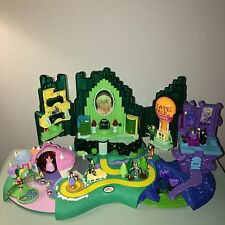 WIZARD OF OZ POLLY POCKET Playset Complete Vintage Set w/ All 10 Figures