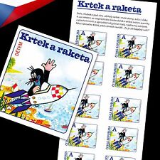 Czech Republic (2013) -- The Mole and the Rocket -- stamp booklet
