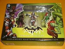 BATMAN 'femmes fatales'S: - Eaglemoss capolavoro Harley Quinn, la Batgirl di, Poison Ivy
