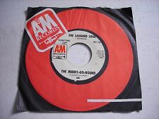PROMO w SLEEVE The Merry Go Round She Laughed Loud 1967 45rpm VG++ Emitt Rhodes