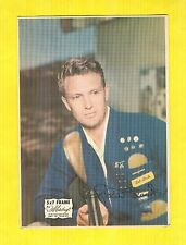 1950's Robert Stack 5X7 Photo Frame Colored Photo Rare