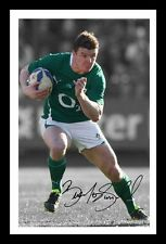 BRIAN O'DRISCOLL - IRELAND AUTOGRAPHED SIGNED & FRAMED PP POSTER PHOTO