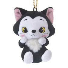 Figaro Plush Keychain Badge Lovely ❤ Disney Store Japan Pinocchio
