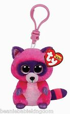 Ty Beanie Boo clave Clip * Roxie * la Racoon clave Clip 3 ""