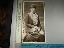 Rare Historical Orig VTG 1906 Postcard of Queen Alexandra Dover NH rppc Photo