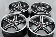 17 Drift Wheels Rims Eclipse Galant Diamante Accord HRV Elantra Veloster 5x114.3