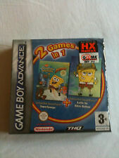 SpongeBob - Supersponge +Bikini Bottom 2 IN 1 - GBA NUOVO SIGILLATO GAME BOY