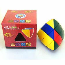Shengshou Forever Color Pillowed Master Pyramorphix Magic Cube Twist Puzzle