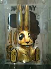 "8"" MR BUNNY YELLOW JOE LEDBETTER JLED LTD 400 WHEATY WHEAT 2005 URBAN VINYL TOY"