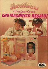 X4281 Sbrodolina e il suo Guardaroba - GIG - Pubblicità 1990 - Advertising