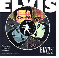 ELVIS PRESLEY.. ..4. STAMPS .from LIBERIA.from 75th birthday 2010   see scan