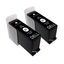 2 Non-OEM For Dell P513W P713W V313 V313W V515W V715W Black Ink Cartridges